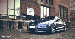 Audi S3 (8V) + Llantas HRE FF01 Liquid Silver