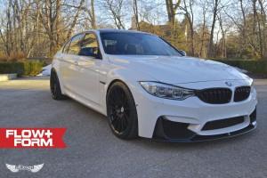 BMW M3 (F80) + Llantas HRE FF15 Tarmac + Sis. Escape Akrapovic