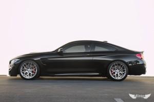 BMW M4 F82 Negro Llantas HRE FF01 Fog 01