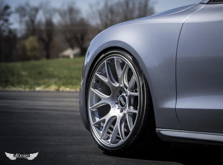 Llantas Bbs Ch R Audi Rs Chr Silver Plata Jantes Wheels X