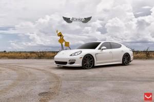 Porsche Panamera (970) + Llantas Vossen VFS1 Matte Graphite