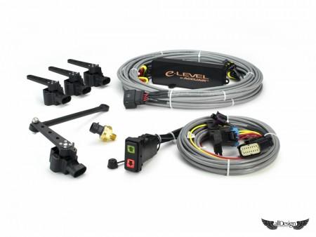 Kit AccuAir e-Level + Rocker Switch para Suspensiones Neumáticas
