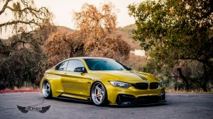 BMW M4 (F82) Vorsteiner GTRS4 + Suspensión Neumática AccuAir e-Level