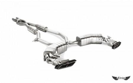 Sistema de Escape Akrapovic Evolution en Titanio para Mercedes S63 AMG Coupe (C217)
