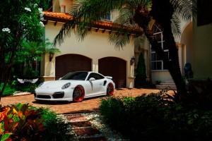Porsche 911 Turbo S (991) + Llantas ADV.1 Wheels ADV7 Track Spec Competition Spec