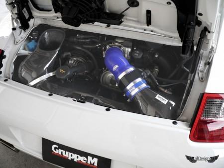 Admision Carbono Porsche 911 C2 C2S C4 C4S 997 MK1 GruppeM FRI-0142 Intake