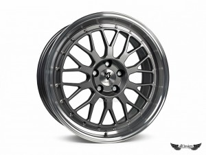 Llantas mbDESIGN LV1 Wheels Gunmetal