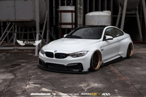 BMW M4 (F82) GTRS4 Vorsteiner WideBody + Llantas ADV.7 TS CS + Suspensión Neumática HP Drivetech & Accuair e-Level