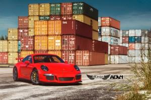 Porsche 911 GT3 (991) + Llantas ADV005 M.V2 Competition Spec