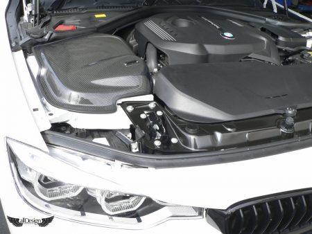 Sistema de Admisión GruppeM en Fibra de Carbono para BMW 320i LCI (F30) (Motor B48)