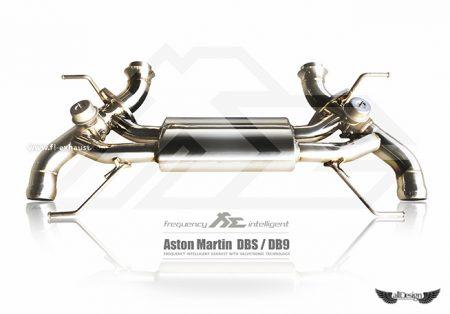 Sistema de Escape Fi Exhaust (Frequency Intelligent Valvetronic) para Aston Martin DBS & DB9