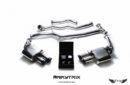 Sistema de Escape Armytrix F1 Valvetronic para Audi A4 2.0 TFSI (B8 & B8.5)