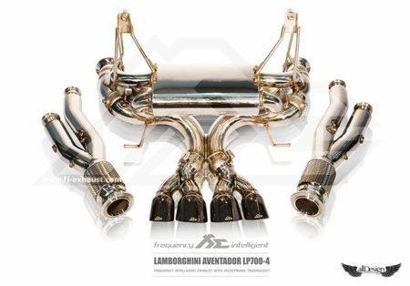 Sistema de Escape Fi Exhaust (Frequency Intelligent Valvetronic) Evolution, para Lamborghini Aventador LP700-4