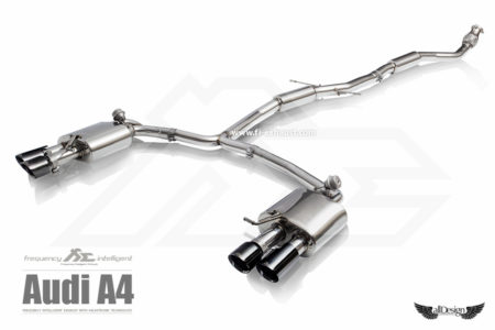 Sistema de Escape Fi Exhaust (Frequency Intelligent Valvetronic) para Audi A4 2.0 TFSI (B8)