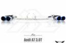 Sistema de Escape Fi Exhaust (Frequency Intelligent Valvetronic) para Audi A7 3.0 TFSI (C7)