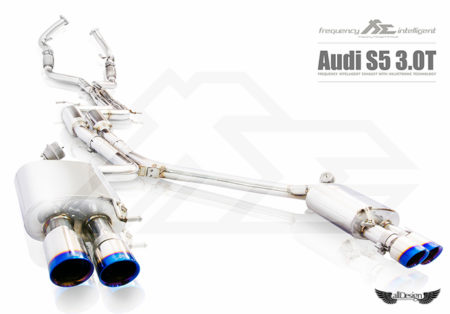 Sistema de Escape Fi Exhaust (Frequency Intelligent) para Audi S5 V6 3.0 TFSI (B8).