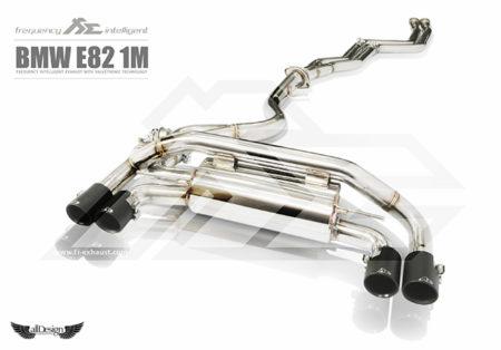 Sistema de Escape Fi Exhaust (Frequency Intelligent Valvetronic) para BMW 1M Coupe (E82)