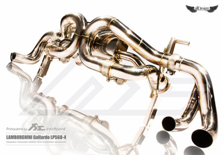 Sistema de Escape Fi Exhaust (Frequency Intelligent Valvetronic) para Lamborghini Gallardo LP550-2 LP560-4 & LP570-4
