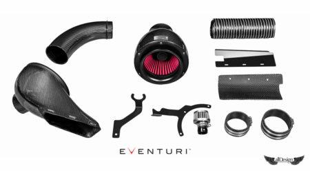 Sistema de Admisión en Fibra de Carbono Eventuri para Audi S4 V6 3.0 TFSI (B8)