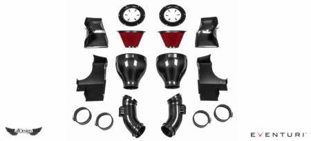 Sistema de Admisión en Fibra de Carbono Eventuri para BMW M6 (F12/F13/F06)
