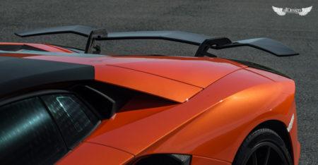 Alerón Trasero Zaragoza Vorsteiner en Fibra de Carbono para Lamborghini Aventador LP700-4