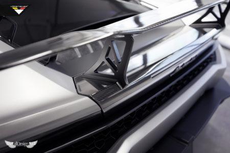 Aleron Trasero Verona Vorsteiner Lamborghini Huracan GT Wing Carbono 01