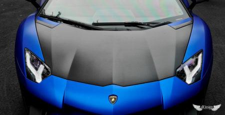 Capó Delantero Zaragoza Vorsteiner en Fibra de Carbono para Lamborghini Aventador LP700-4