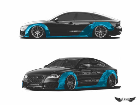 Clinched Widebody Kit Carrocería para Audi A7, S7, & RS7 (C7)