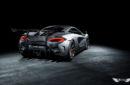 Defensa + Difusor Traseros 570-VX Vorsteiner en Fibra de Carbono para McLaren 570S