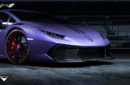 Defensa Delantera + Spoiler Novara Vorsteiner en Fibra de Carbono para Lamborghini Huracan