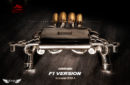 Sistema de Escape Fi Exhaust (Frequency Intelligent) F1 para Lamborghini Aventador LP700-4