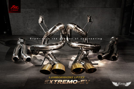 Sistema de Escape Fi Exhaust (Frequency Intelligent) Extremo-SV para Lamborghini Aventador LP700-4 & 720-4