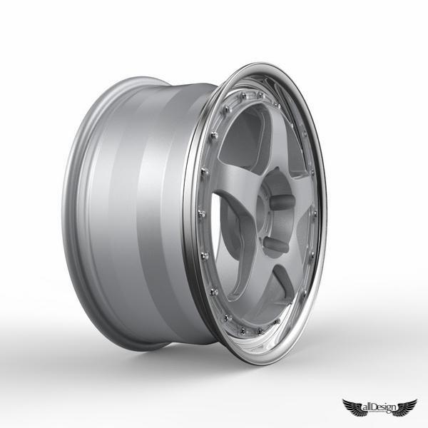 Llantas Fifteen52 Chicane 3pc Rsr Series Alldesign