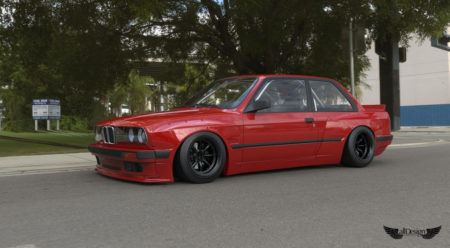 Wide Body Kit Pandem Rocket Bunny para BMW M3 (E30)