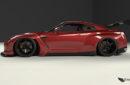 Wide Body Kit Pandem Rocket Bunny Nissan GT-R (R35)
