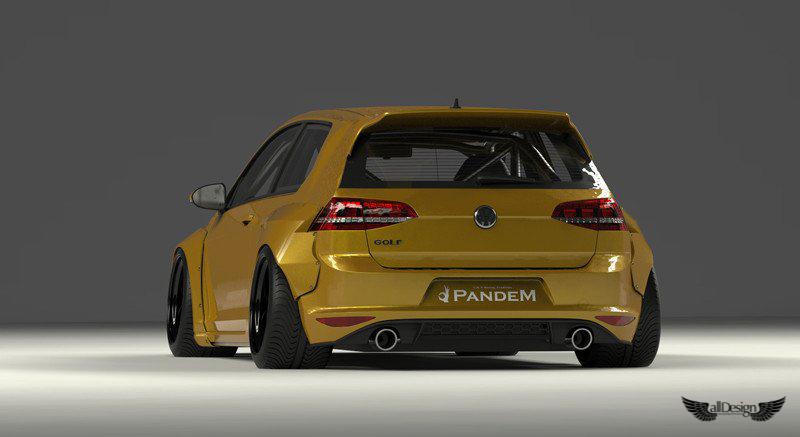 Wide Body Kit Pandem Rocket Bunny Volkswagen Golf GTI (MK7)