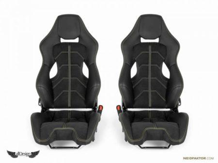 Asientos Ferrari Personalizados